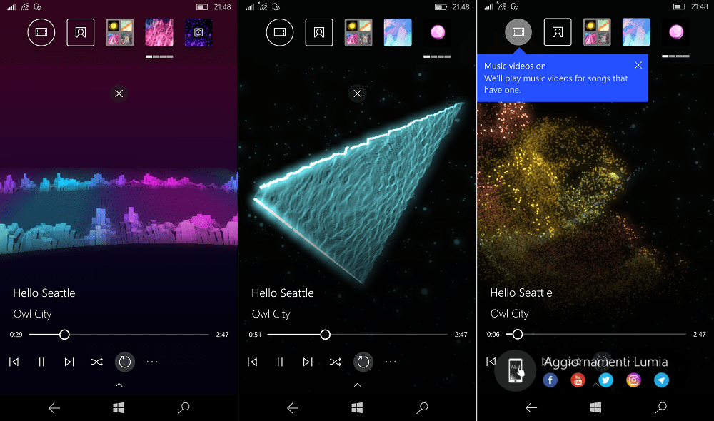 Groove Music visualizer is reportedly coming to Windows 10 Mobile, too OnMSFT.com August 8, 2017