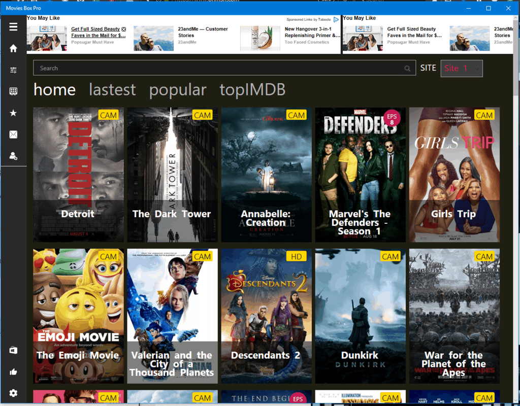 Trending on the windows store: pirated tv and movies apps - onmsft. Com - august 21, 2017