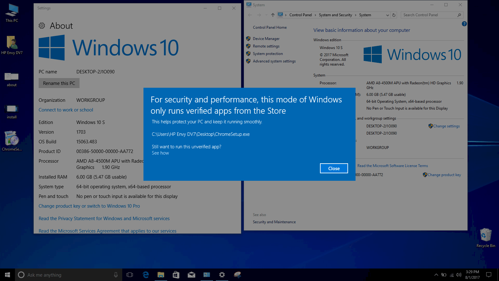 Here is how you can download and install Windows 10 S OnMSFT.com August 1, 2017