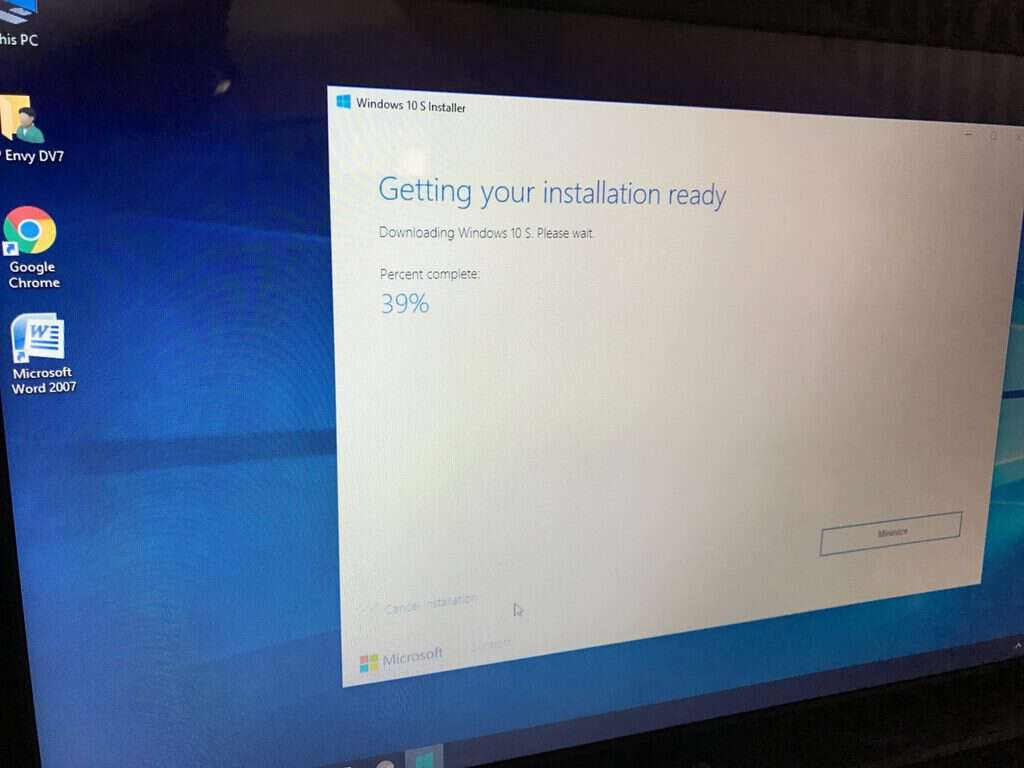 WIndows 10 S Installer