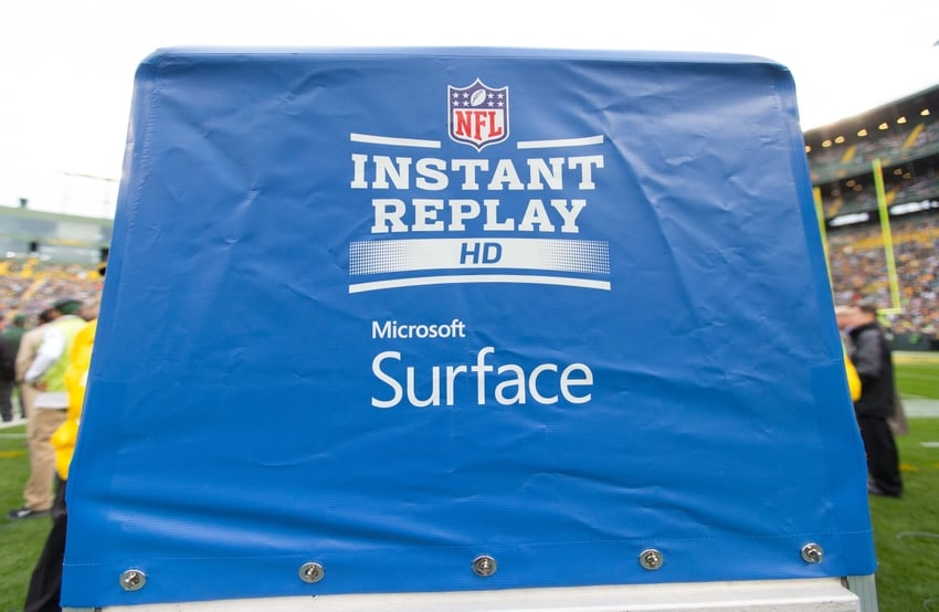 """Microsoft's Surface Pro 4s to replace NFL """"under the hood"""" replay system this year OnMSFT.com August 4, 2017"""