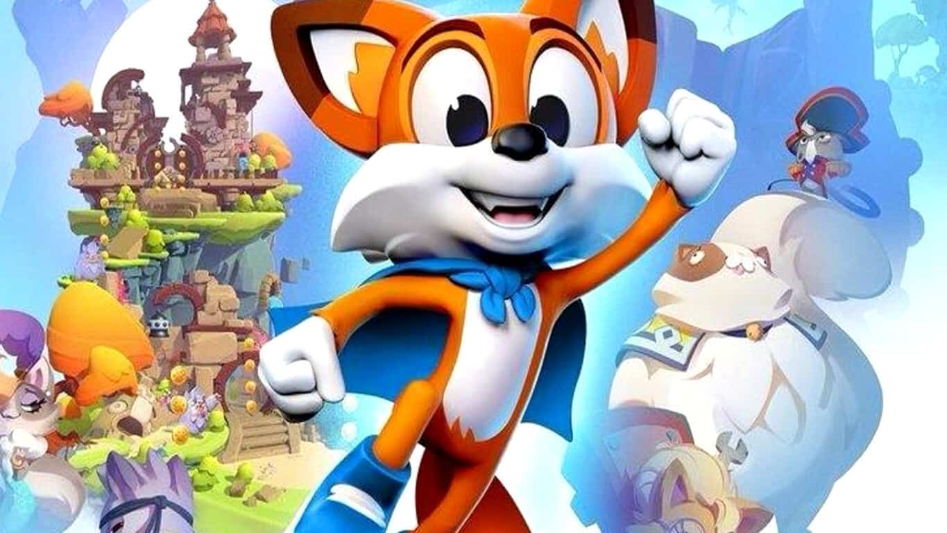 Super Lucky's Tale on Xbox One X