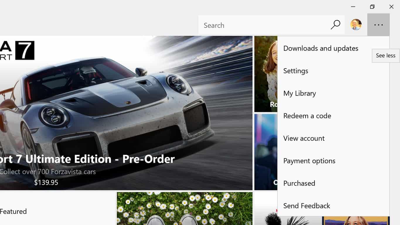 Windows 10 Windows Store
