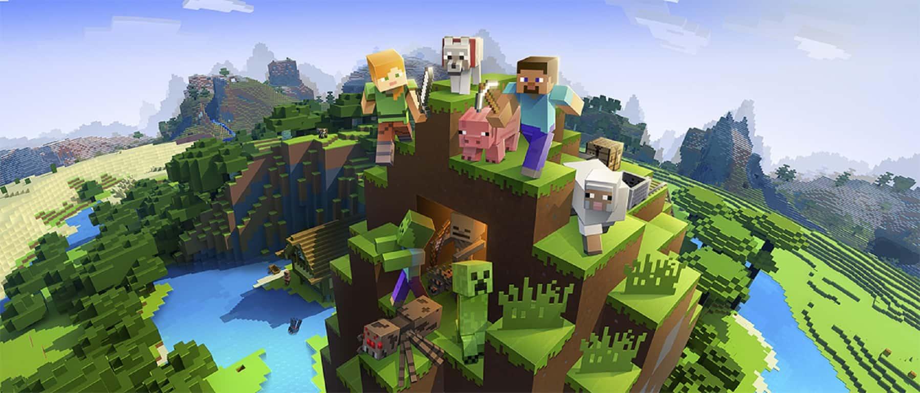 Microsoft, Minecraft, Xbox, Windows