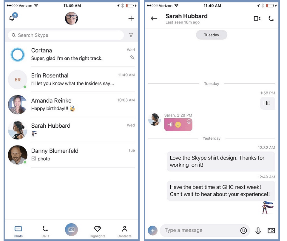 Microsoft teases another redesign for its new Skype experience, shipping soon on iOS OnMSFT.com September 29, 2017