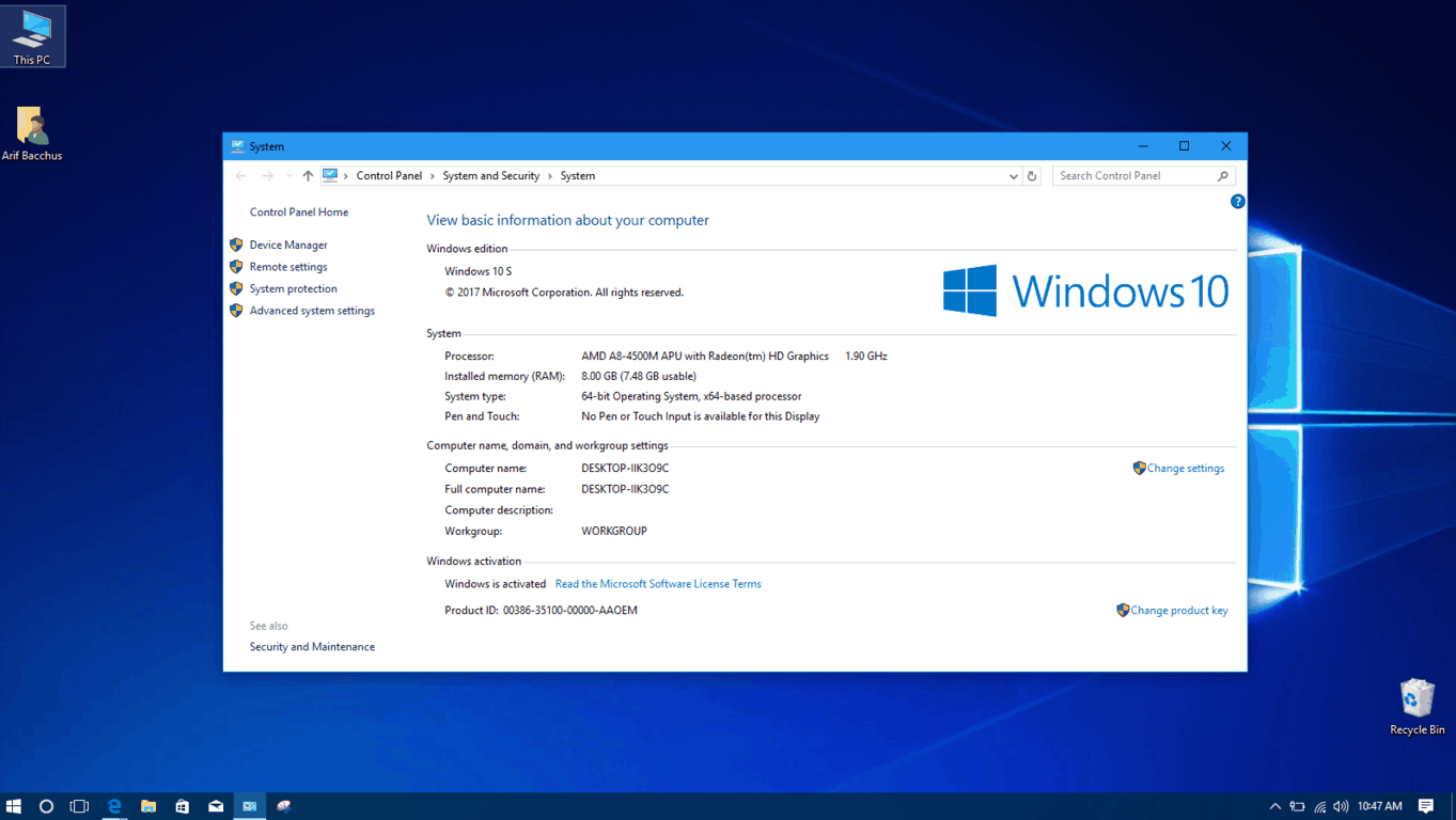 I turned this old laptop into a windows 10 s work machine - onmsft. Com - september 6, 2017