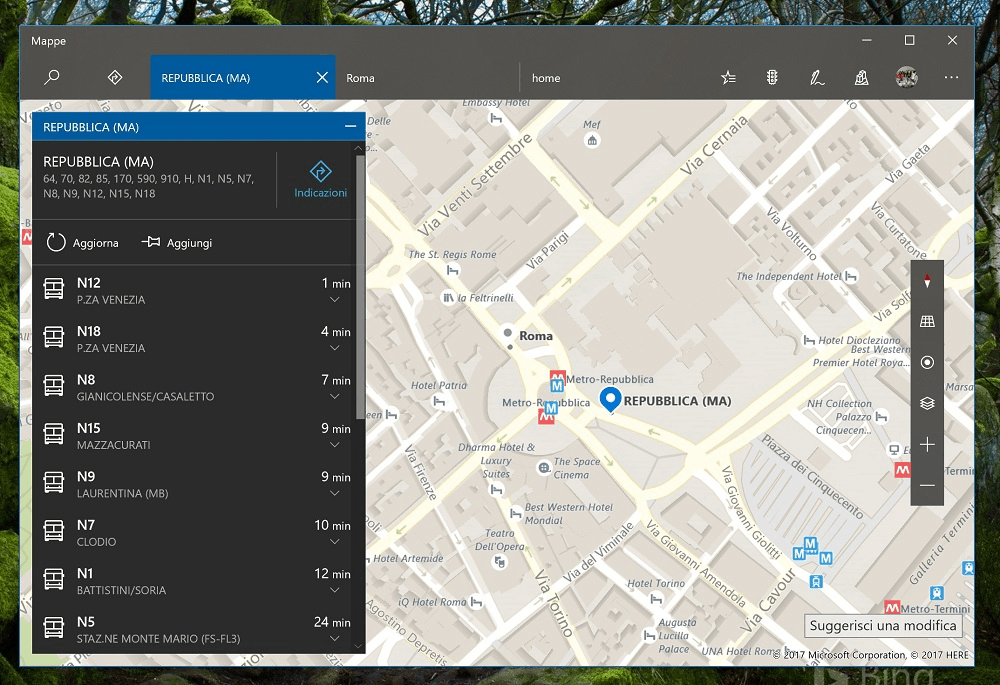 Latest Windows 10 Maps app on Skip Ahead provides bus, ferry, train schedules, more OnMSFT.com September 20, 2017