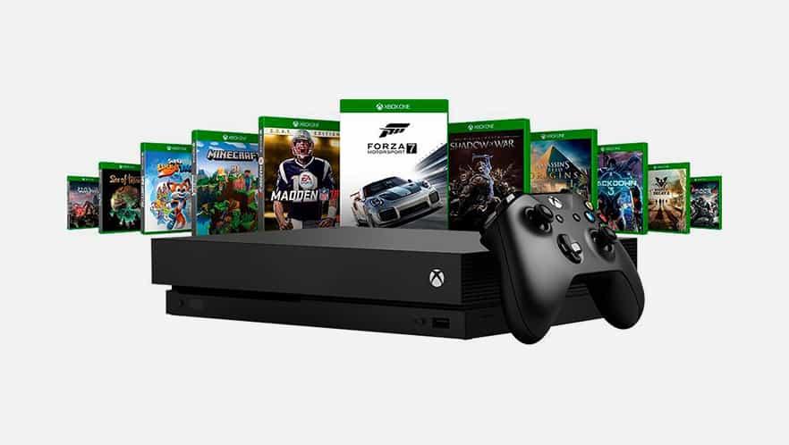 Microsoft, Xbox, Xbox One X