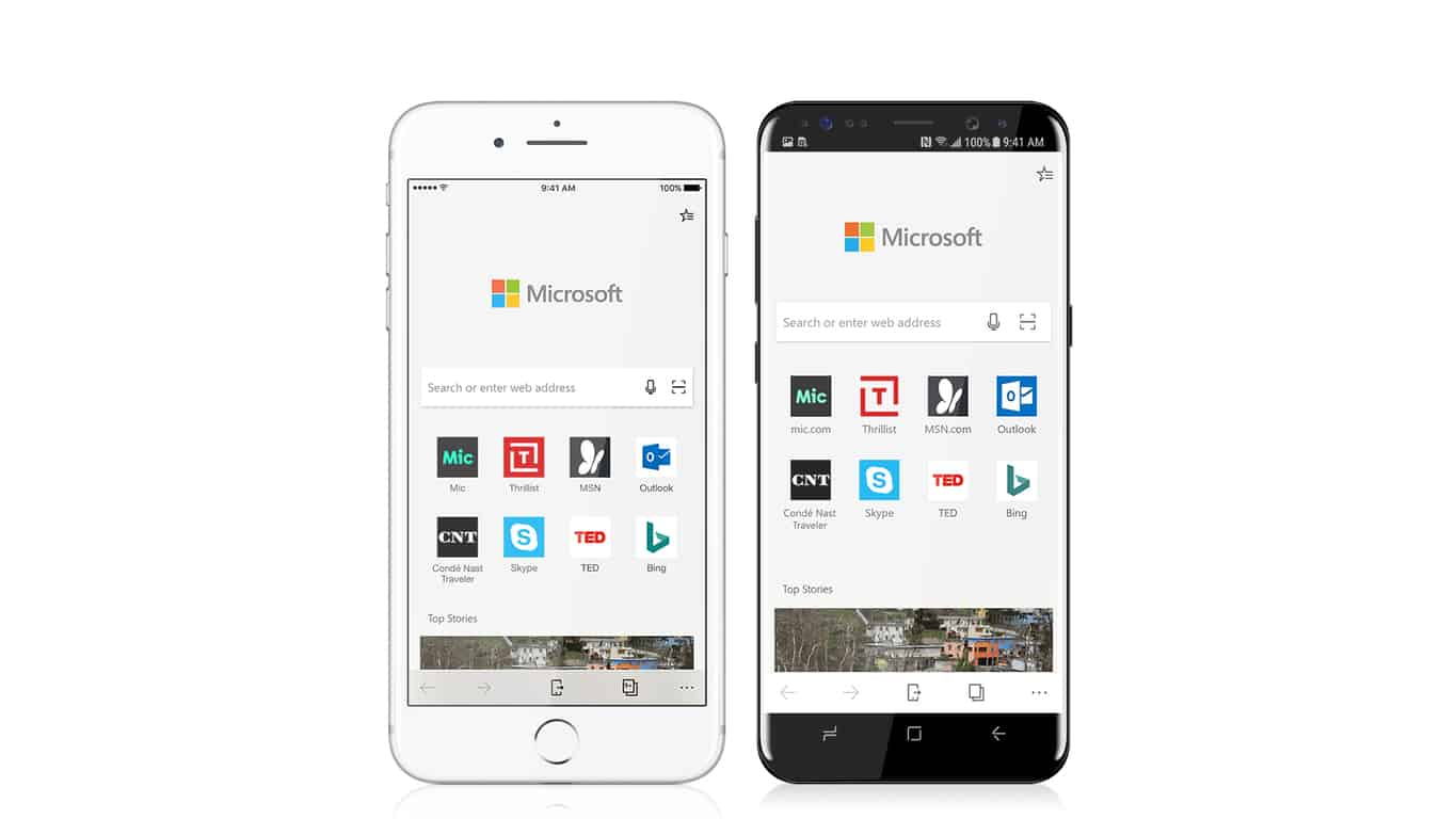 It's true: microsoft edge is coming to ios and android - onmsft. Com - october 5, 2017
