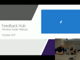 Latest Windows Insider Webcast is available as VOD... just watch it in Microsoft Edge, mmkay? OnMSFT.com October 25, 2017