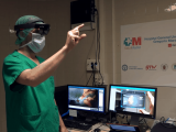 Spanish doctors are using hololens in the operating room, cutting surgery time in half - onmsft. Com - october 23, 2017