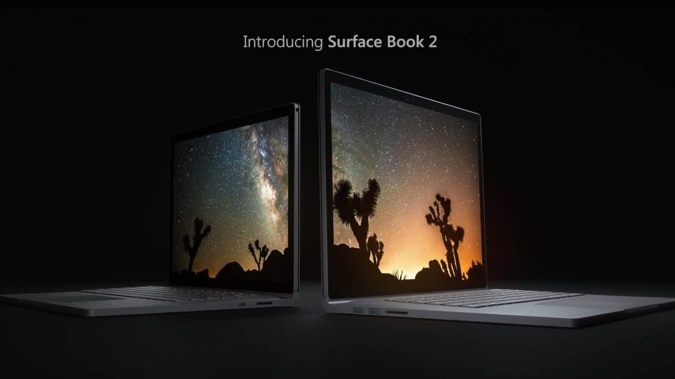 Microsoft, Surface Book 2, Windows 10