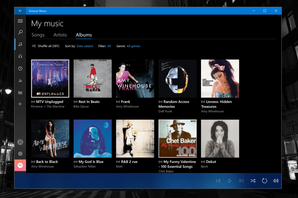 Fast ring insiders can now move over their groove music collection to spotify - onmsft. Com - october 4, 2017