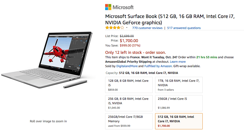 Surface Book prices slashed after Surface Book 2 announcements OnMSFT.com October 19, 2017