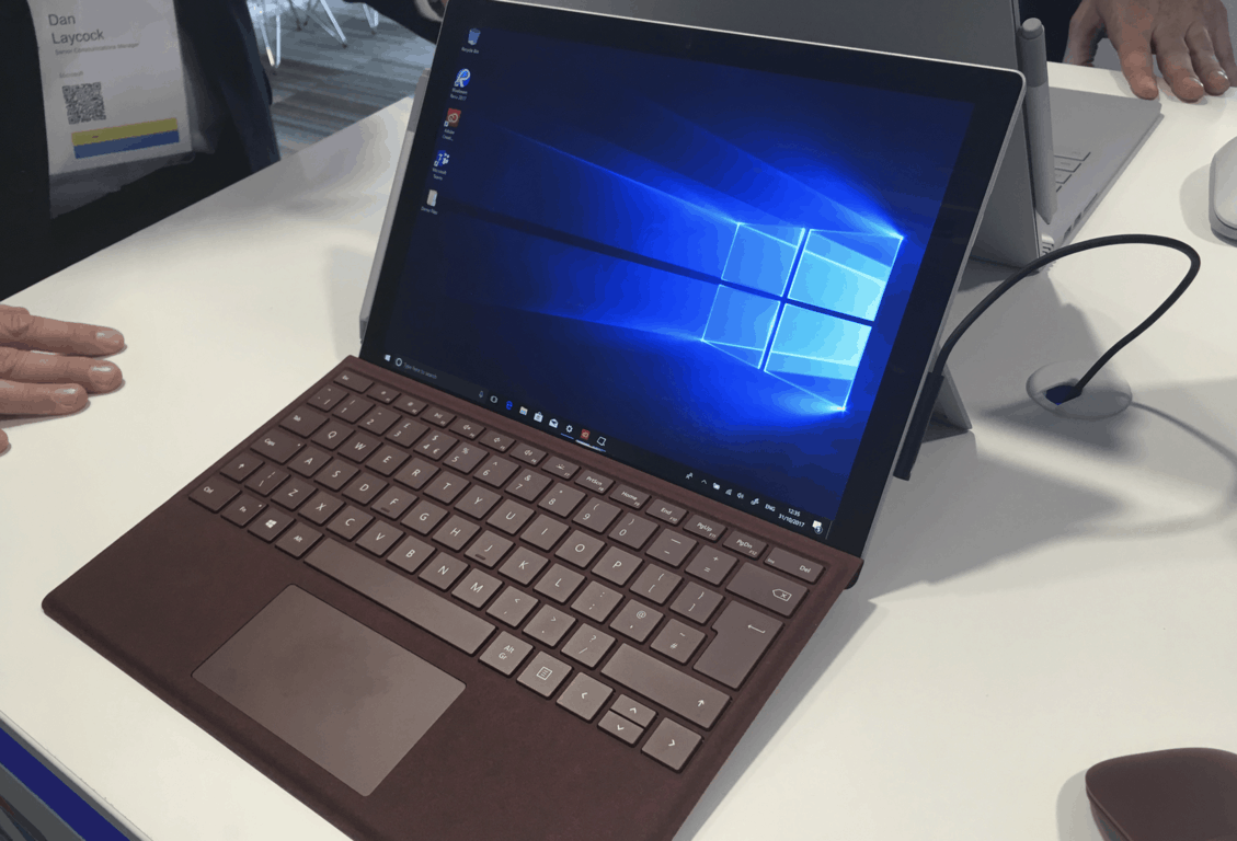 Hands-on with the new surface pro with lte advanced - onmsft. Com - october 31, 2017