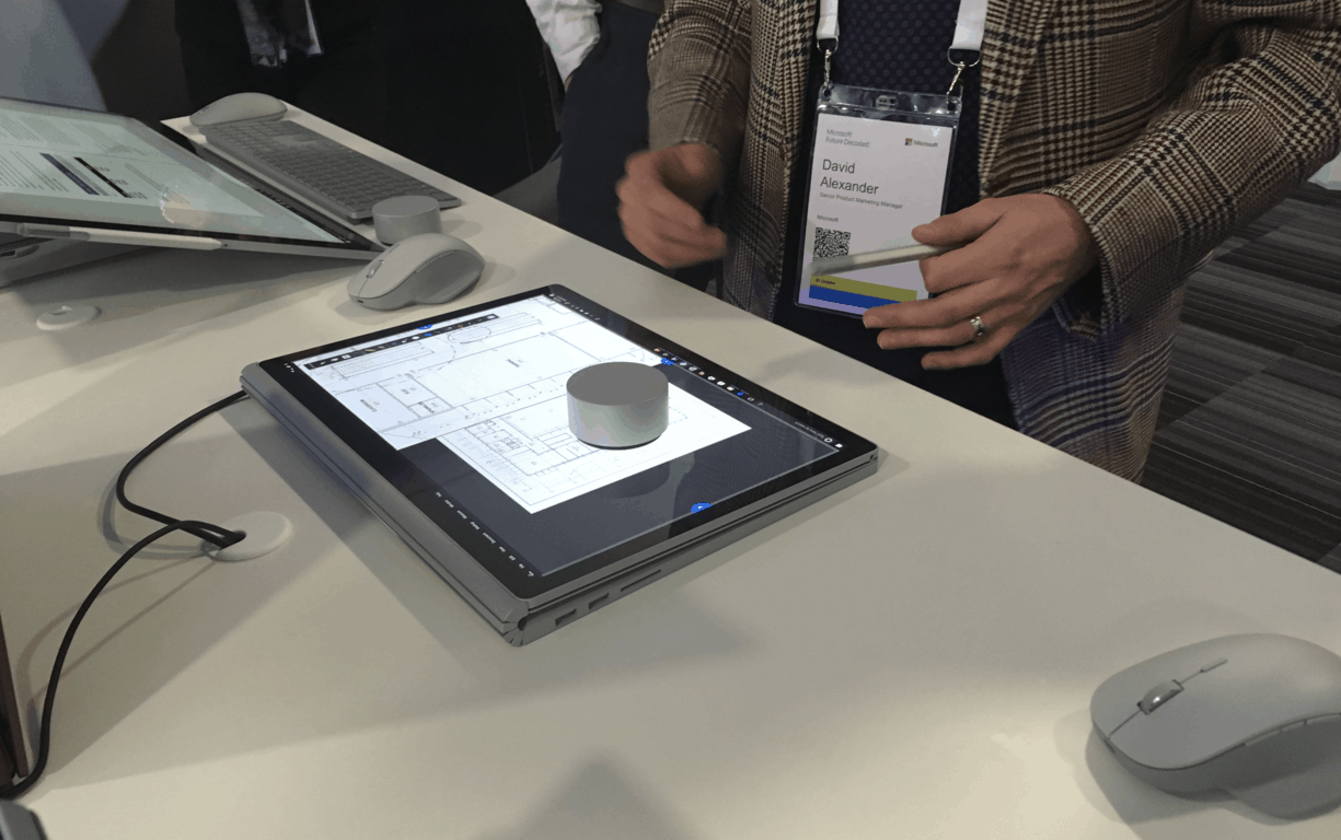 Future decoded: microsoft shows off 15-inch surface book 2 as part of the future of computing - onmsft. Com - october 31, 2017