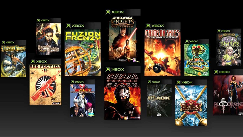 Backwards Compatible OG Xbox Video Games