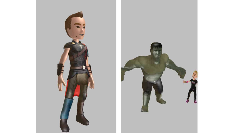 Thor: Ragnarok Xbox Avatars