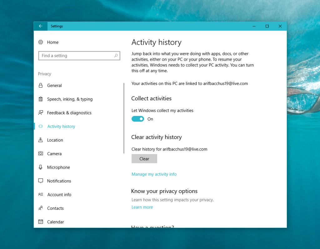 Latest windows 10 insider build 17040 includes windows timeline features - onmsft. Com - november 20, 2017