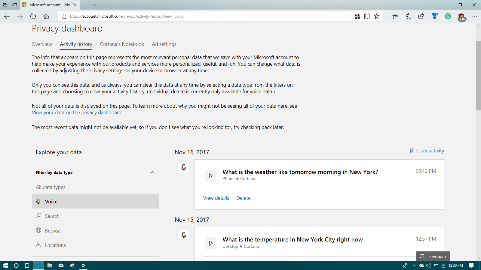 Latest Windows 10 Insider build 17040 includes Windows Timeline features OnMSFT.com November 20, 2017