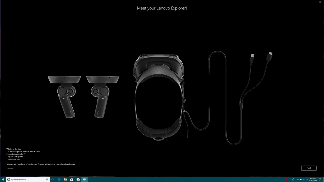 How to set up your Windows Mixed Reality Headset OnMSFT.com November 27, 2017