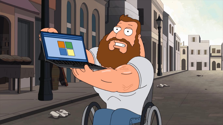 Family Guy Surface Product Plug