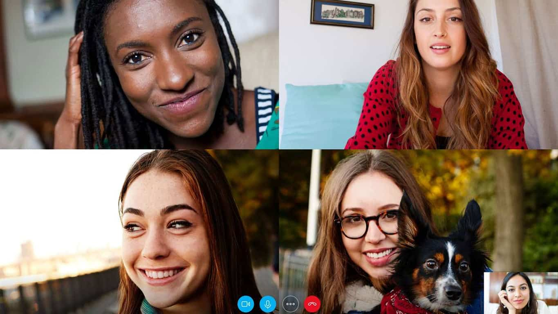Skype on Windows 10