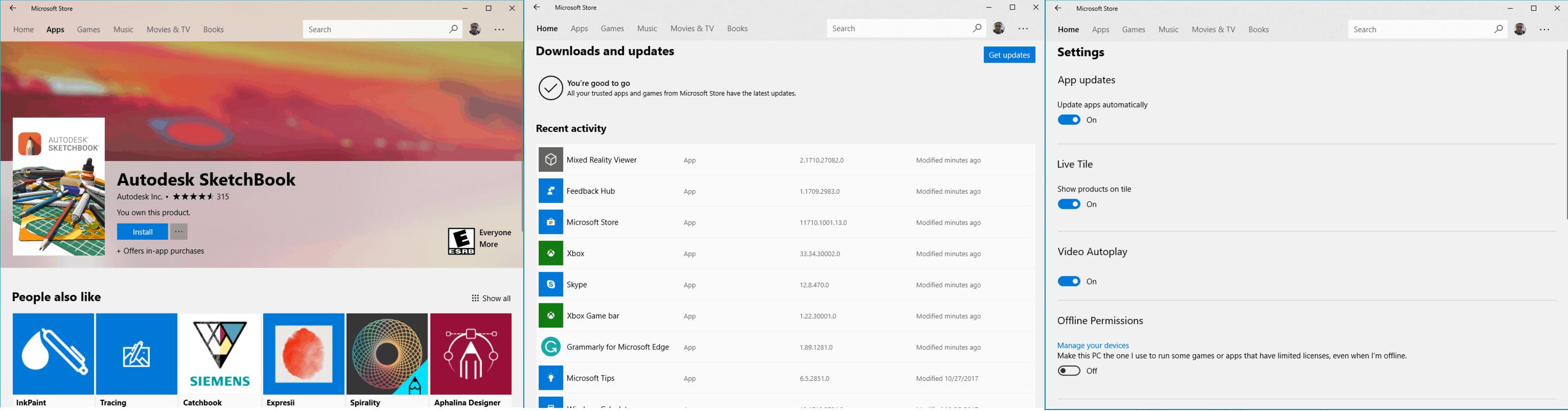 Windows 10 Microsoft Store app picks up more acrylic Fluent Design in latest Insiders update OnMSFT.com November 3, 2017
