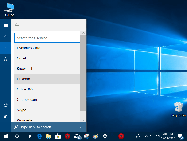 Cortana adds gmail connection for mail, calendar, contacts - onmsft. Com - december 11, 2017
