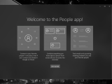 Microsoft tests a redesigned windows 10 people app with fast ring insiders - onmsft. Com - december 1, 2017