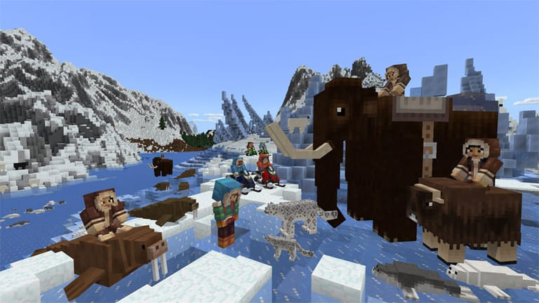 Minecraft marketplace adds vampires, robots and more - onmsft. Com - january 23, 2018