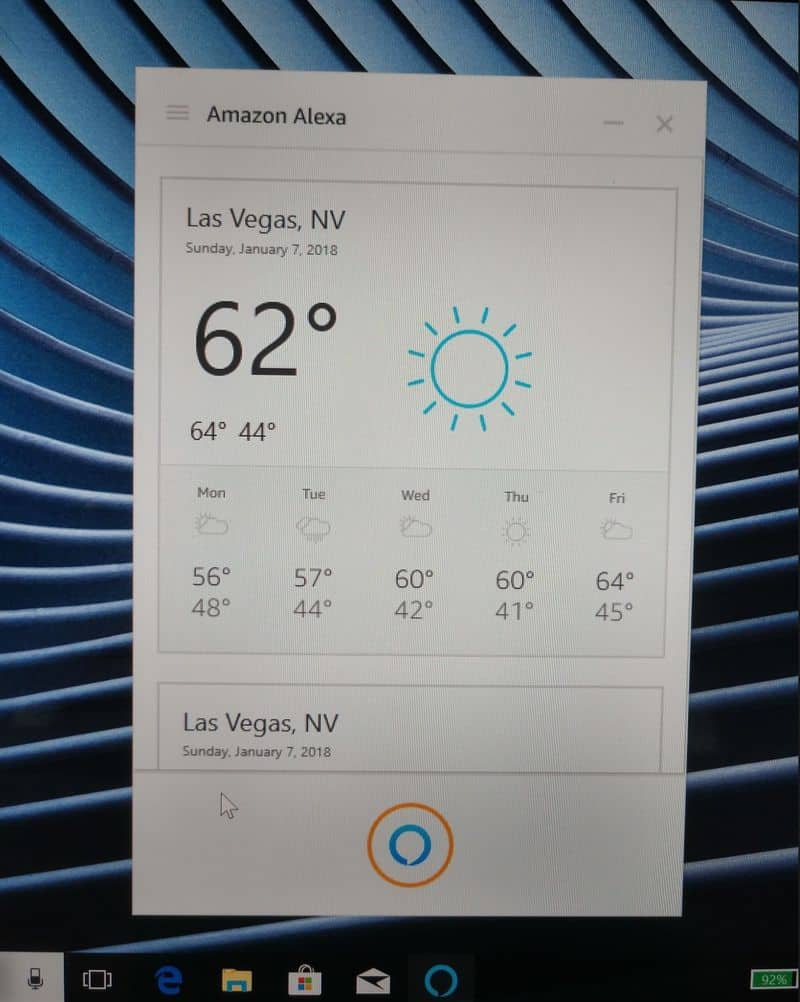 Ces 2018: amazon is bringing alexa to select windows pcs this year - onmsft. Com - january 8, 2018