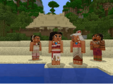 Moana comes to minecraft in new character pack - onmsft. Com - january 30, 2018