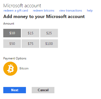 [Updated] Microsoft no longer accepting Bitcoin as form of payment OnMSFT.com January 8, 2018