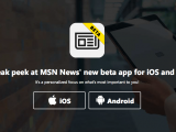 Microsoft launches new MSN News beta app on iOS and Android OnMSFT.com January 31, 2018