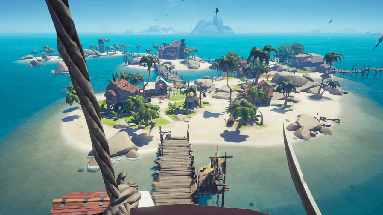 Sea of Thieves on the PC runs well, with odd limitations