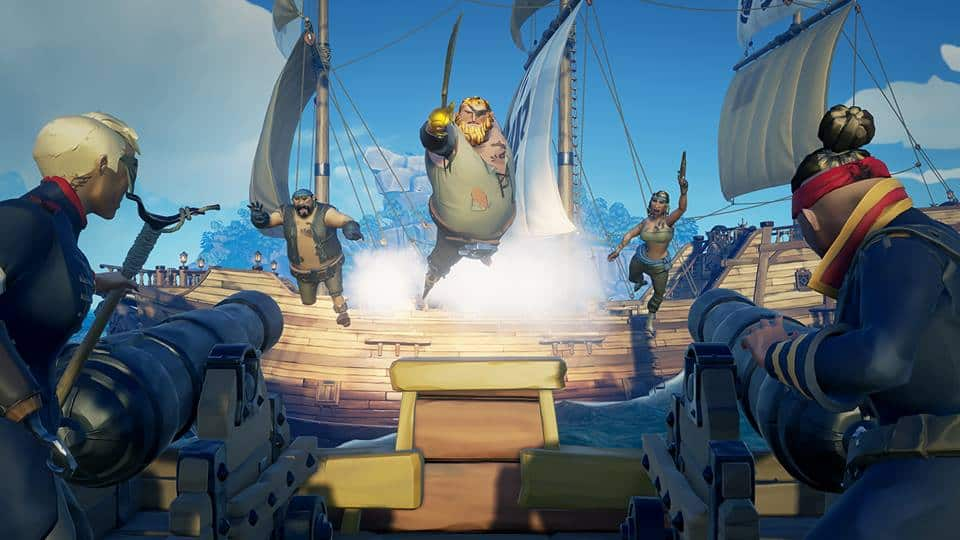 """Sea of thieves players are evolving the game with calls of """"parley! """" - onmsft. Com - april 25, 2018"""