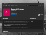 Debian linux distribution also makes it way to the microsoft store - onmsft. Com - march 6, 2018