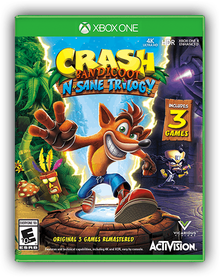 Crash Bandicoot N. Sane Trilogy on Xbox One