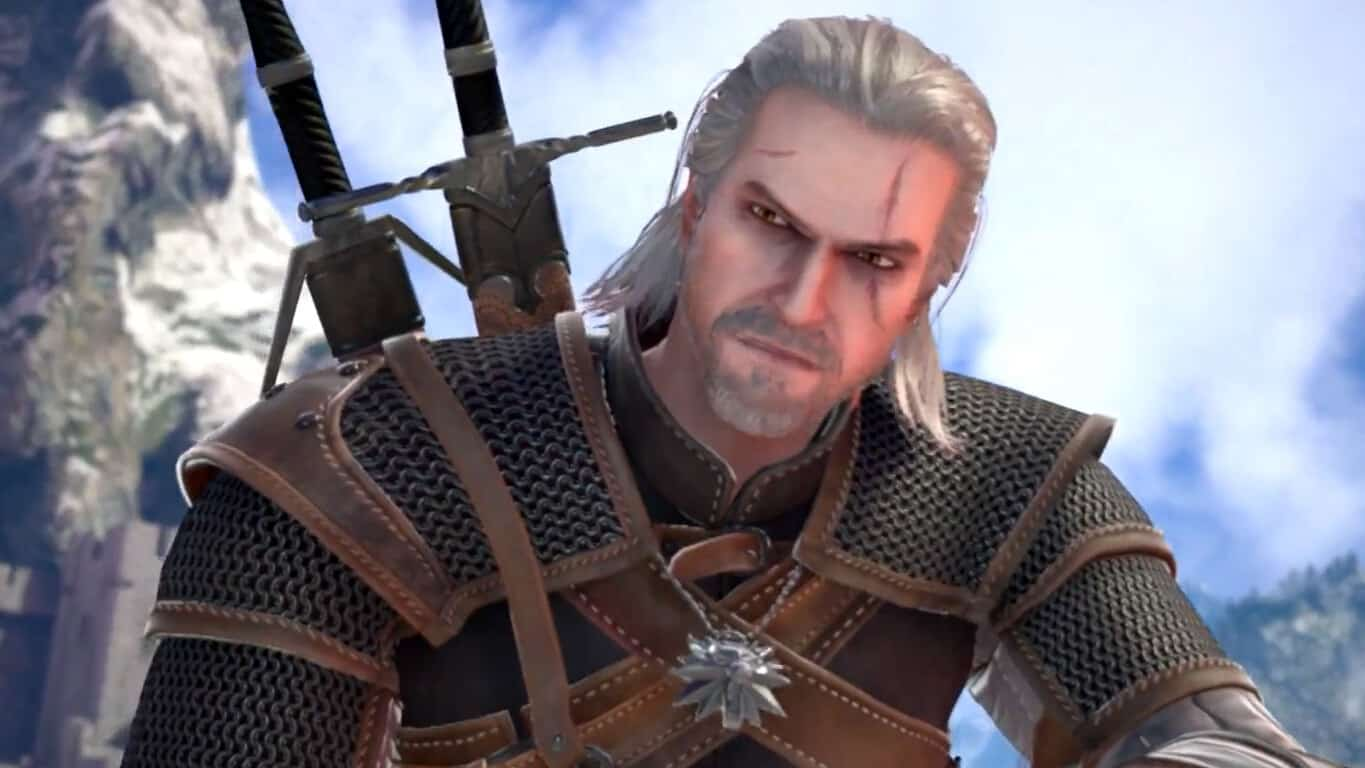 Geralt from The Witcher in Soulcalibur VI on Xbox One