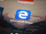 Microsoft Edge app on ios