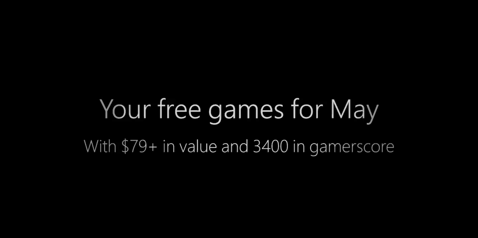 May 2018 Games with Gold