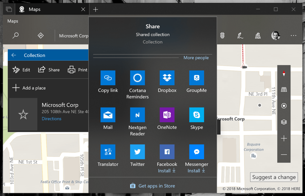 Windows Maps lets you share your collections, save searched places with latest Insider update OnMSFT.com April 19, 2018