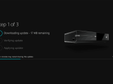 Xbox One Update Screen