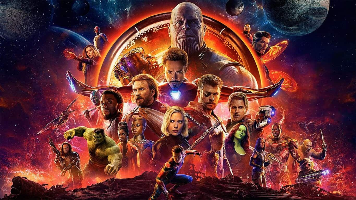 Avengers Infinity War Movie Poster - Xbox One Video Games