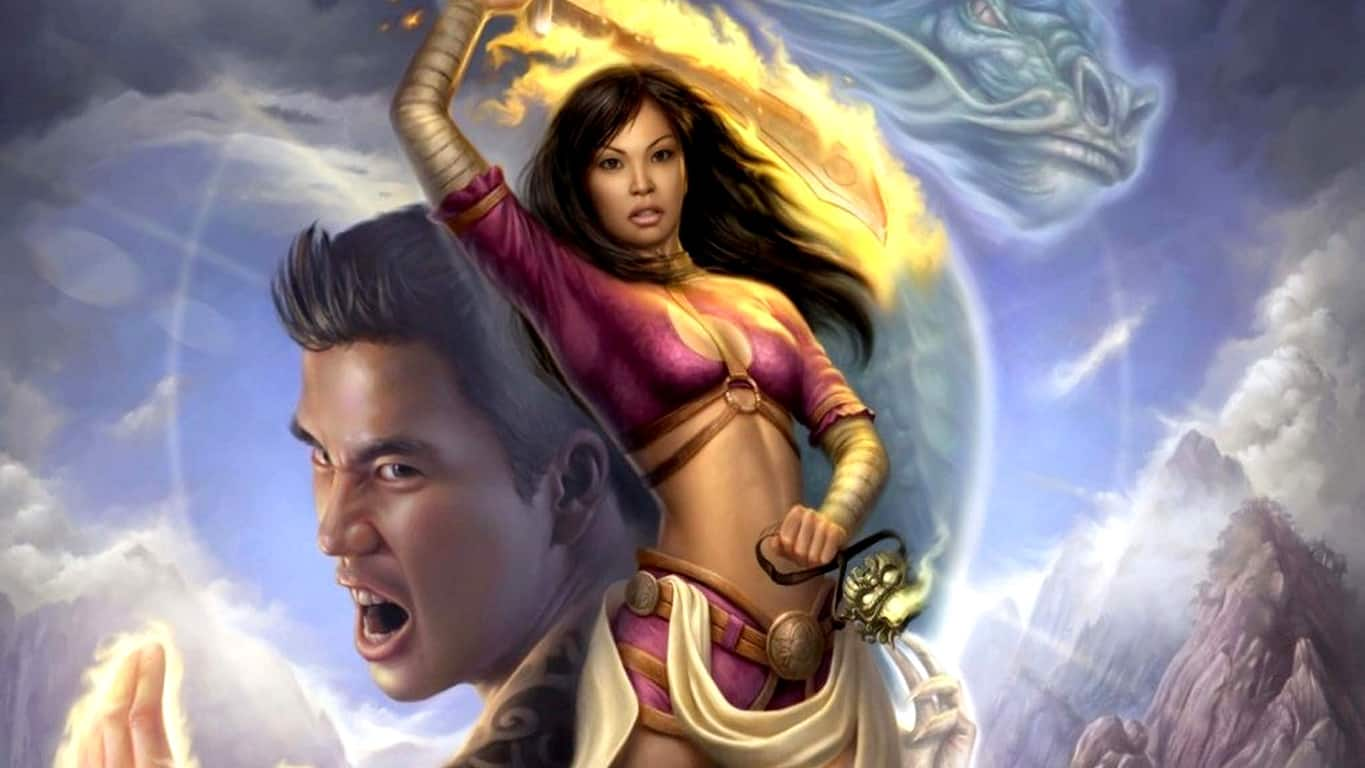Jade Empire video game on Xbox One
