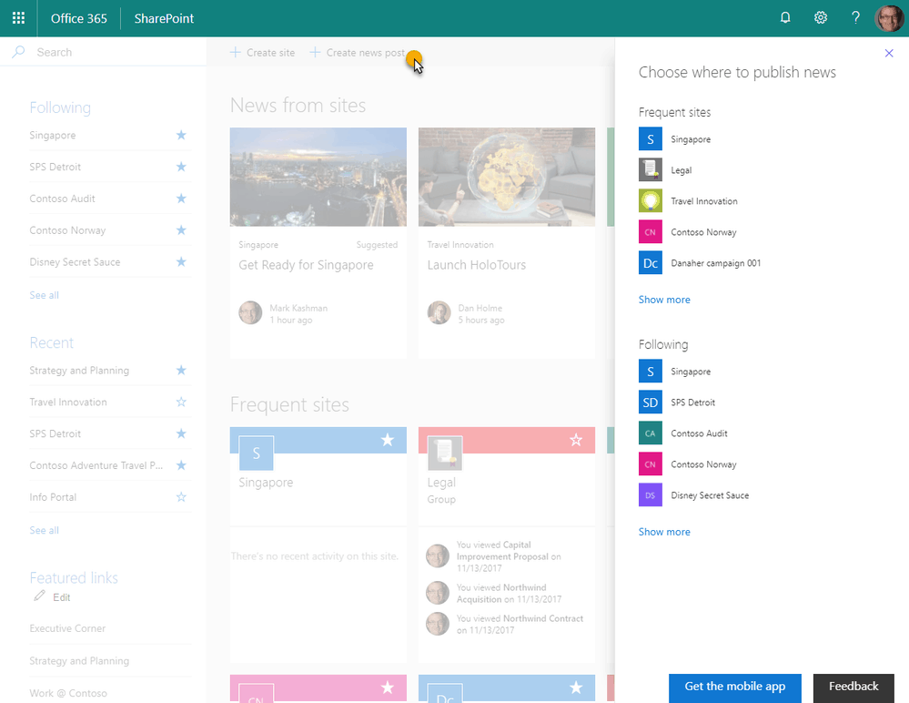 Latest SharePoint news update adds Teams integration, more OnMSFT.com April 11, 2018