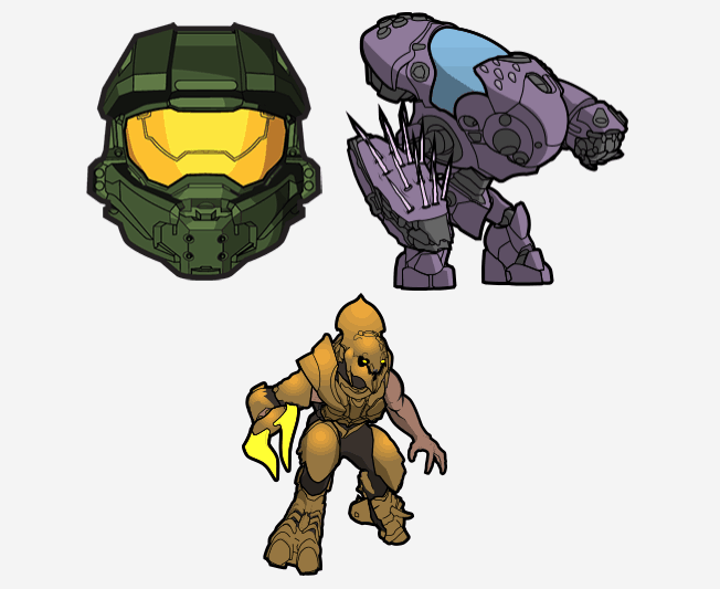 Halo video game stickers come to swiftkey on android - onmsft. Com - april 13, 2018