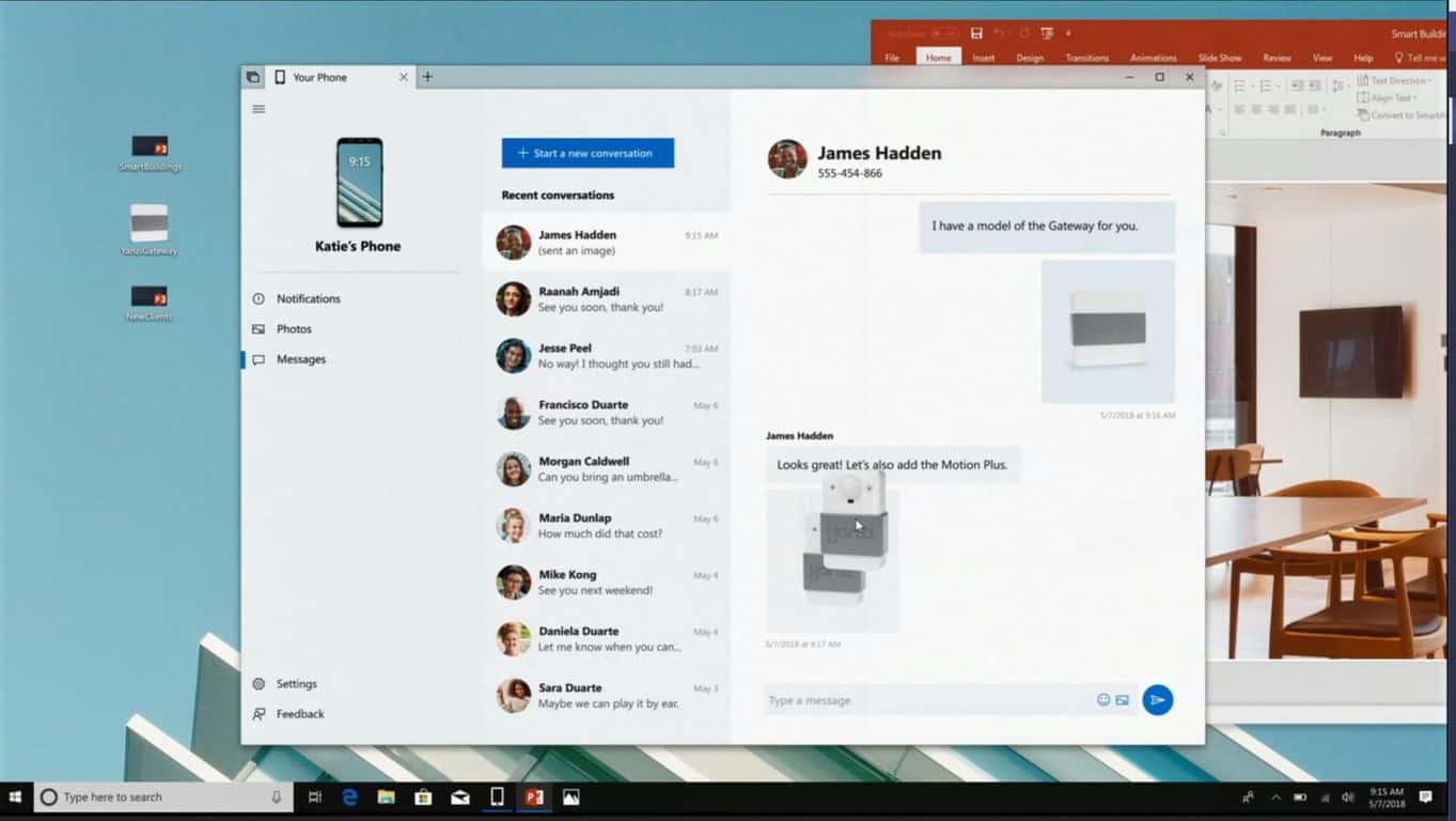 Build 2018: your phone app for windows will allow seamless sharing with android/ios smartphones - onmsft. Com - may 7, 2018