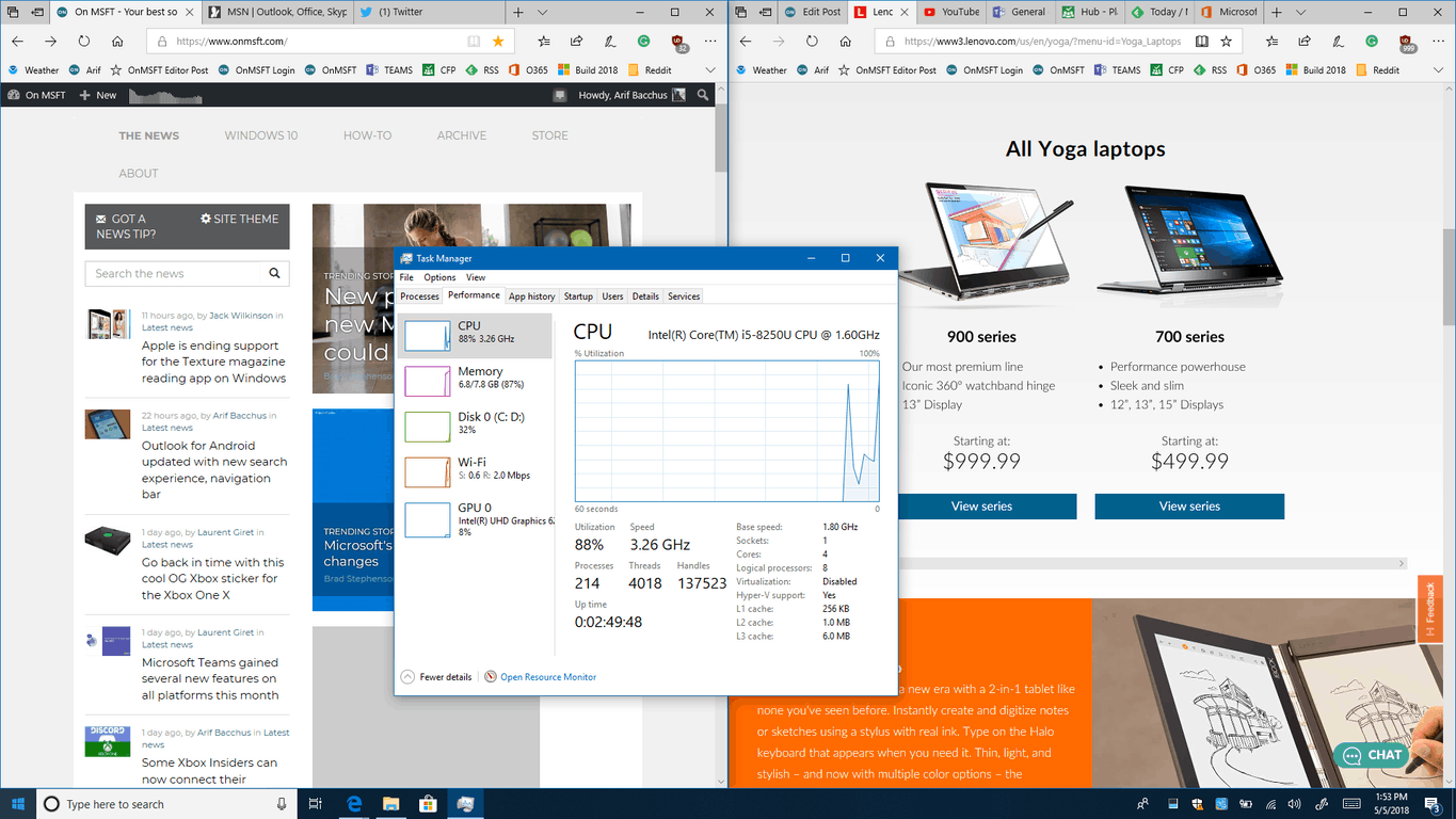 Lenovo yoga 730 (13-inch:) big power in a small but premium package - onmsft. Com - may 6, 2018